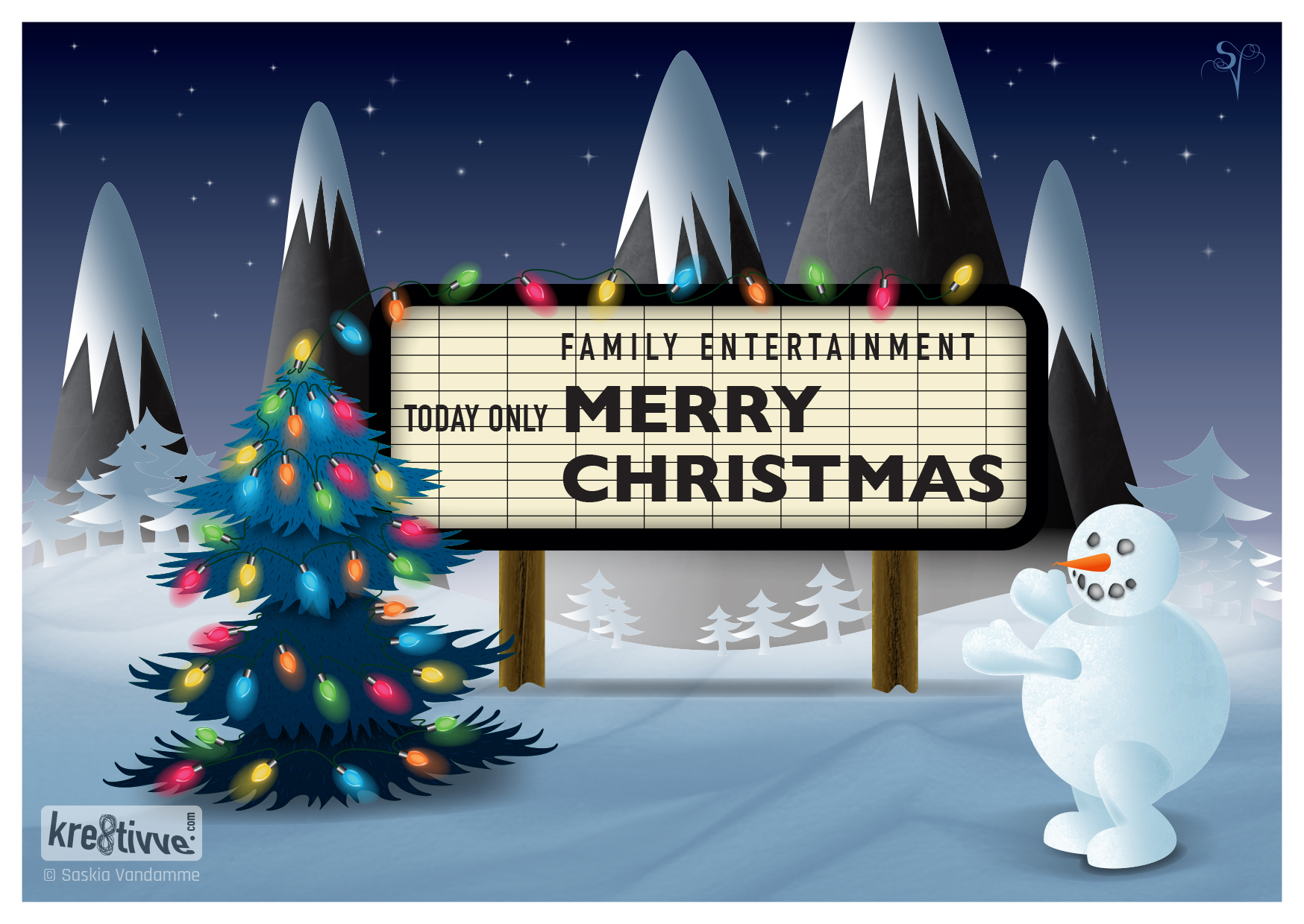 gekke merry christmas